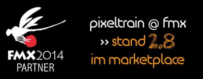 pixeltrain Newsletter FMX 2014