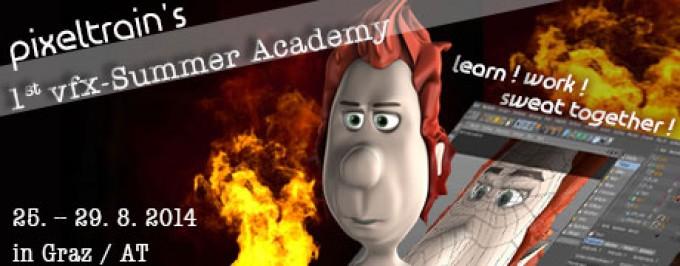 pixeltrain's VFX-Summer Academy 2014