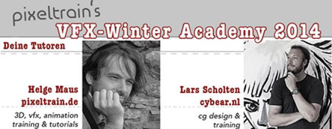 pixeltrain's VFX-Winter Academy 2014