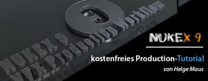 """Kostenfreies Tutorial zu NUKEX 9 """"Tracking & Scene-Reconstruction"""""""