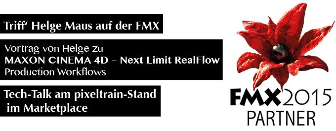 Helge Maus | pixeltrain auf der FMX 2015
