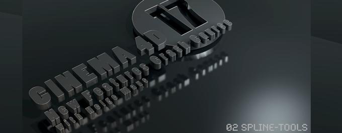 C4D R17 – New Features-Tutorial zu den SPLINE-Tools