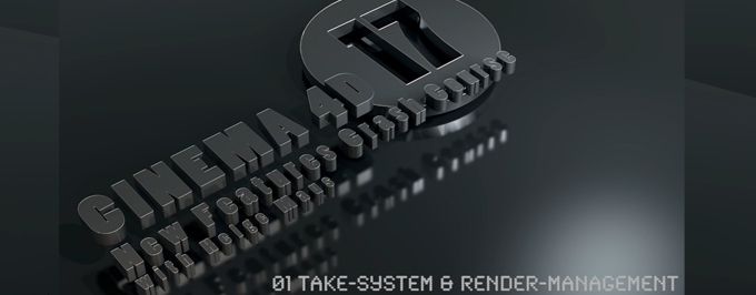 Kostenfreies C4D R17-Tutorial – New Features