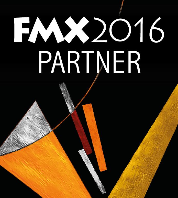 Helge auf der FMX 2016 mit pixeltrain, Maxon, Houdini, SolidAngel & Laubwerk