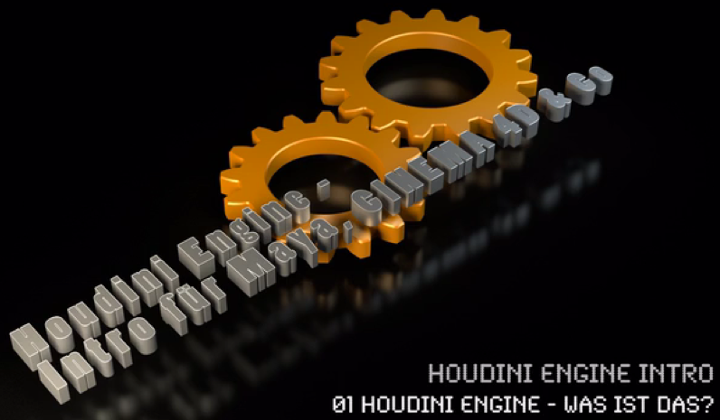 kostenfreies Video-Tutorial: Houdini Engine für Maya, Cinema 4D & Co.