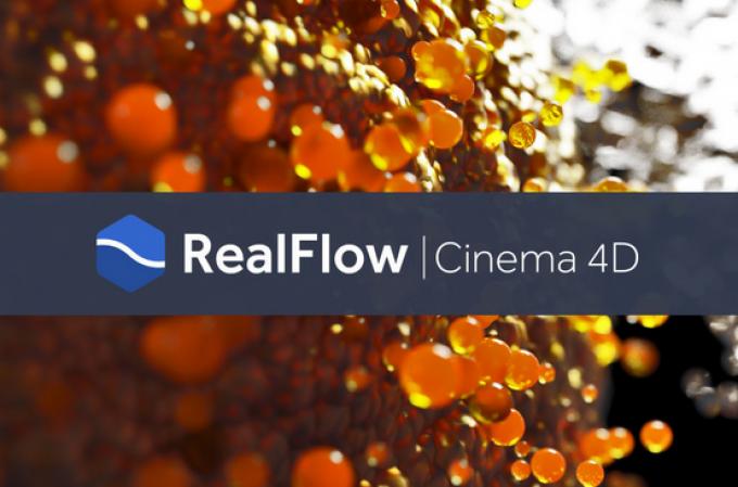 RealFlow | CINEMA 4D ist endlich erschienen