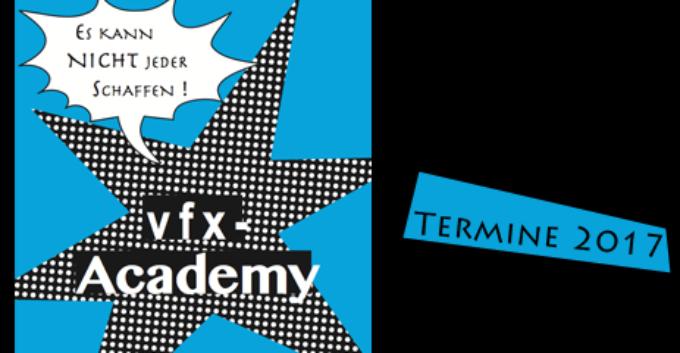 pixeltrain's VFX-Academy 2017 – Termine & Themen