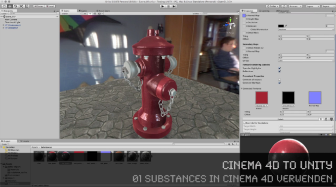 Neue Tutorial-Reihe: CINEMA 4D to UNITY Workflow