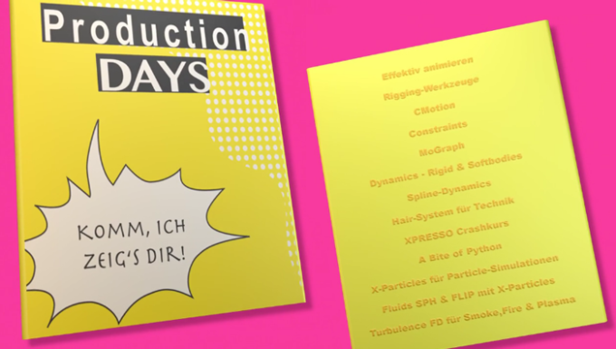 Helge's Trailer zu den Production Days Spring