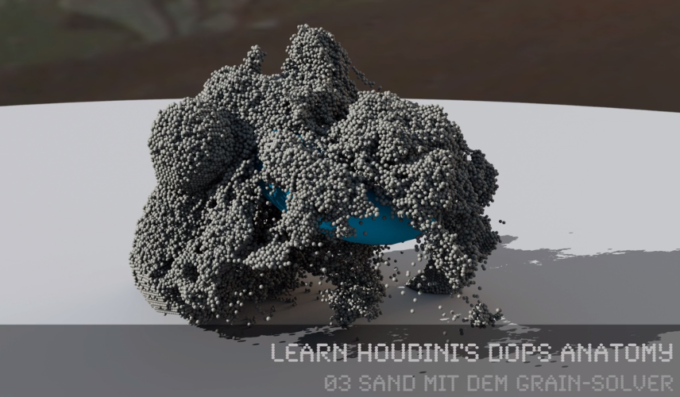 FREE Video-Tutorial >> Houdini's Grains Solver Anatomy