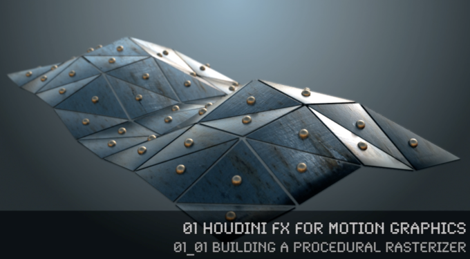 FREE Tutorial >> Houdini FX for Motion Graphics