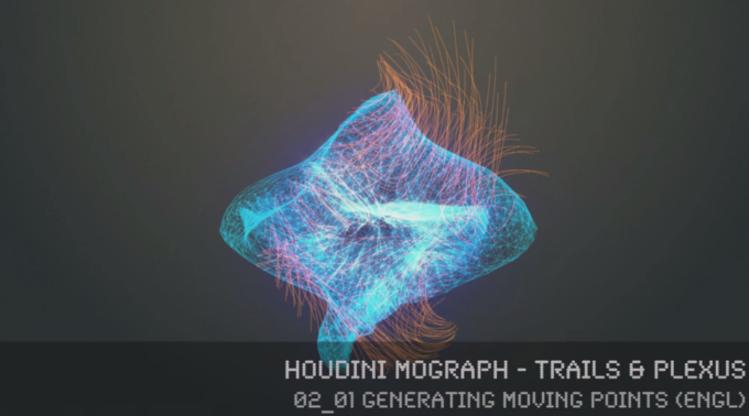 FREE Tutorial >> Houdini MoGraph – Trails & Plexus