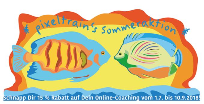 Sommer-Aktion >> Hol' Dir Deinen 15%-Rabatt auf Online-Coachings!