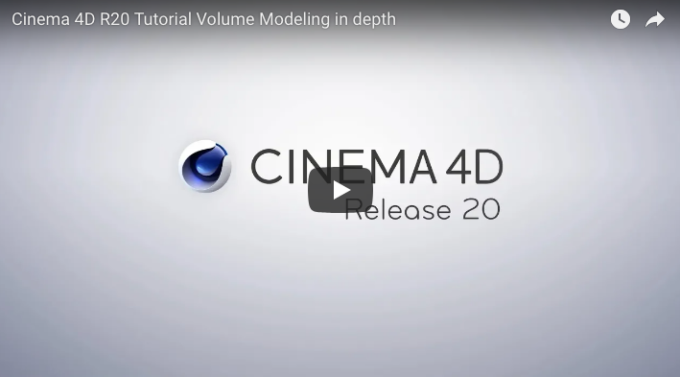 Video-Tutorials zu Cinema 4D R20!