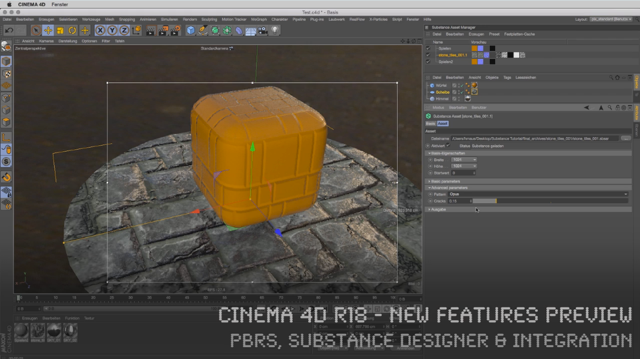 Cinema 4D R18 - New Features - Free Tutorial by Helge Maus