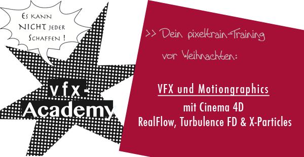 Turbulence FD, X-Particles & RealFlow für Cinema 4D lernen mit Helge Maus